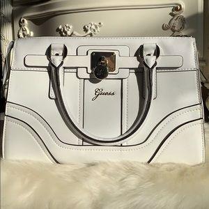 Guess Greyson Small Satchel Handbag